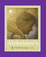 Stamp out Alzheimer's